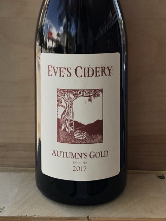 Eve's Cidery, Autumn's Gold Sparkling Cider