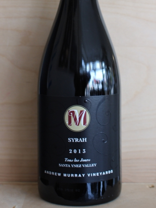 "Andrew Murray Vineyards Syrah ""Tous les Jours"""